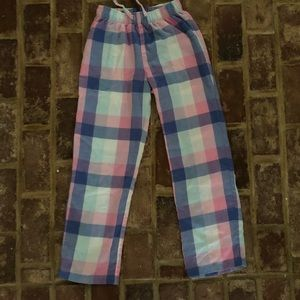 GAP cotton plaid flannel pant.